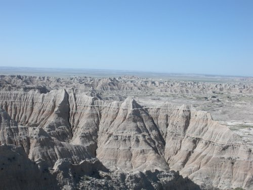 The Badlands are amazing.