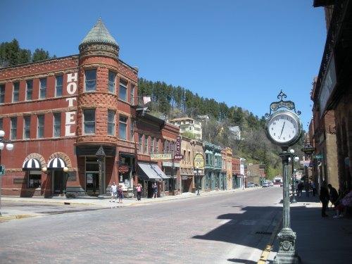 More of Main Street in Deadwood.