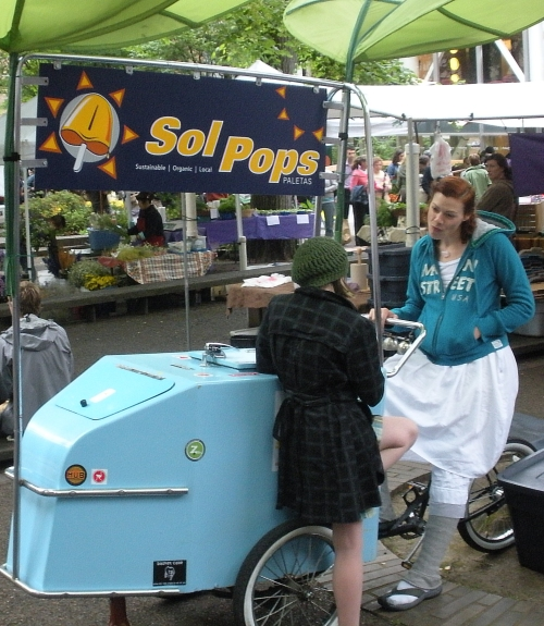 The Sol Pops cart. Very unique indeed.