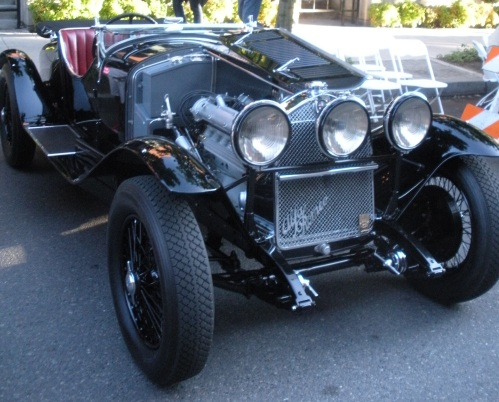 The most amazing car there, a 1929 Alfa Romeo 6C 1750.