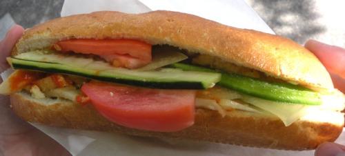 Bánh mì from Huong's.