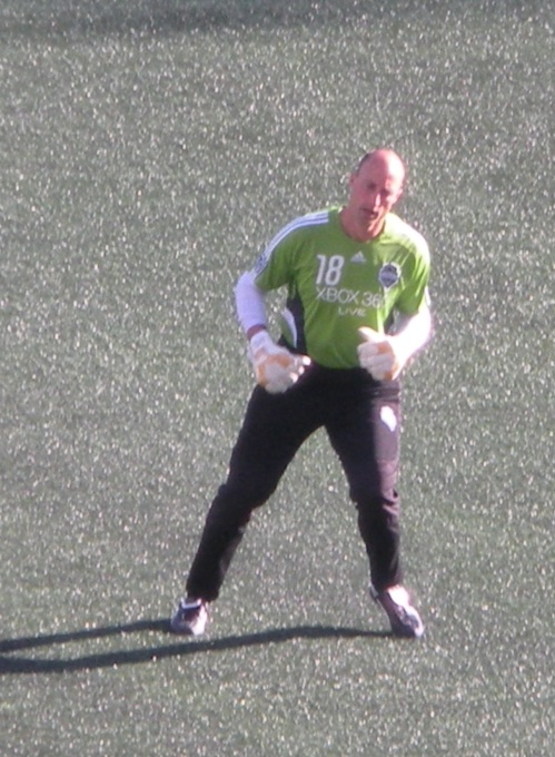 Seattle and former American international goal keeper Kasey Keller.
