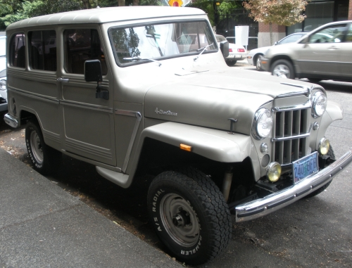 1963 Willys Jeep Overland Station Wagon