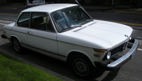 1971 BMW 2002 in White