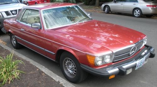 1977 Mercedes Benz 450 SLC