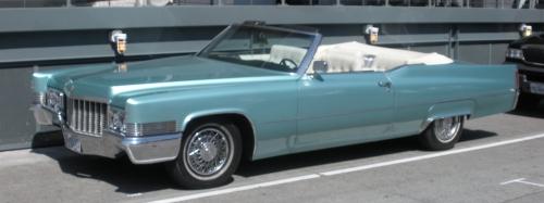 1970 Cadillac DeVille Convertible.