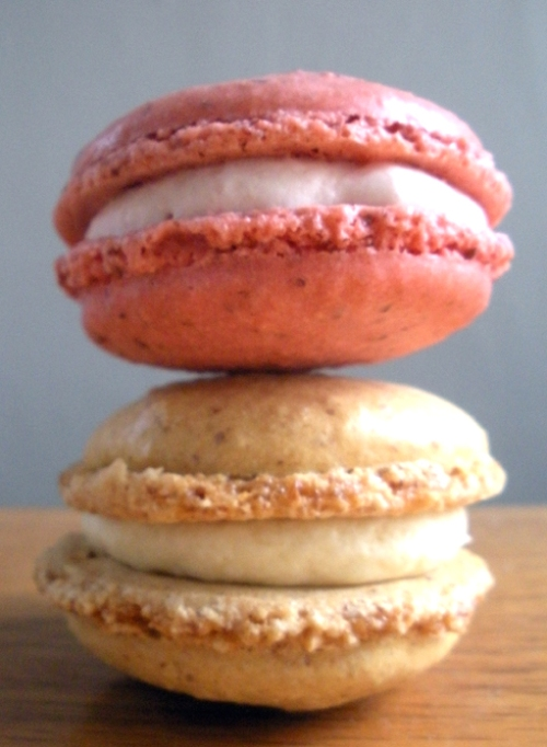 Summer flavors of peach and strawberry at Ken's Artisan Bakery.