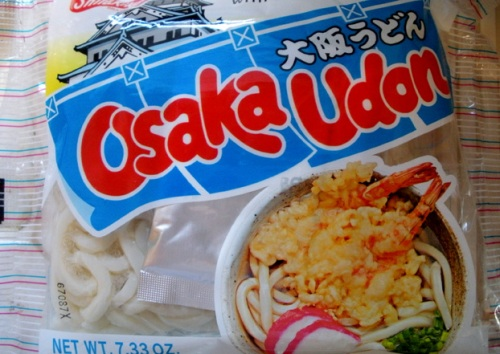 My desire to visit Osaka will for now have to be quelled by slurping bowls of Osaka udon soup.