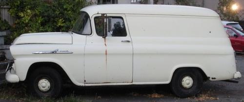 1955 Chevrolet Apache 31 Ambulance