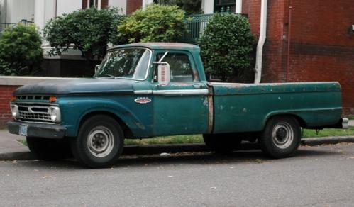 1966 Ford F100 Custom Cab Truck