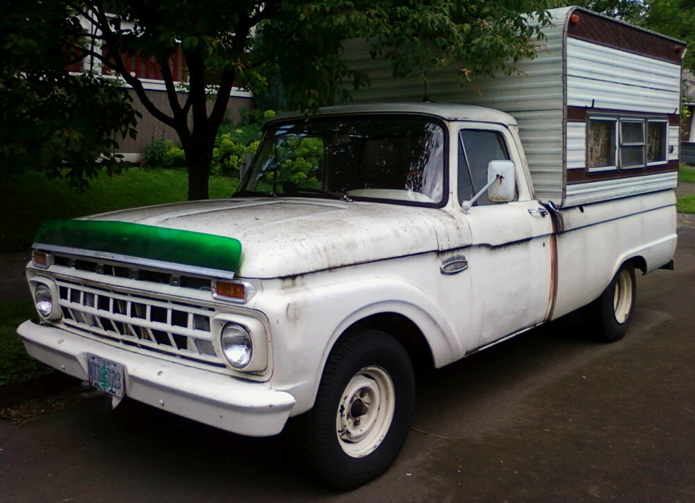 1965 Ford F100 Bench Seat