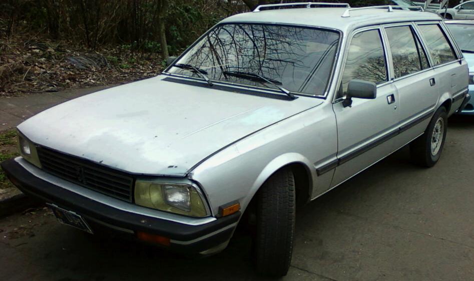 1985 peugeot 505 turbo diesel.