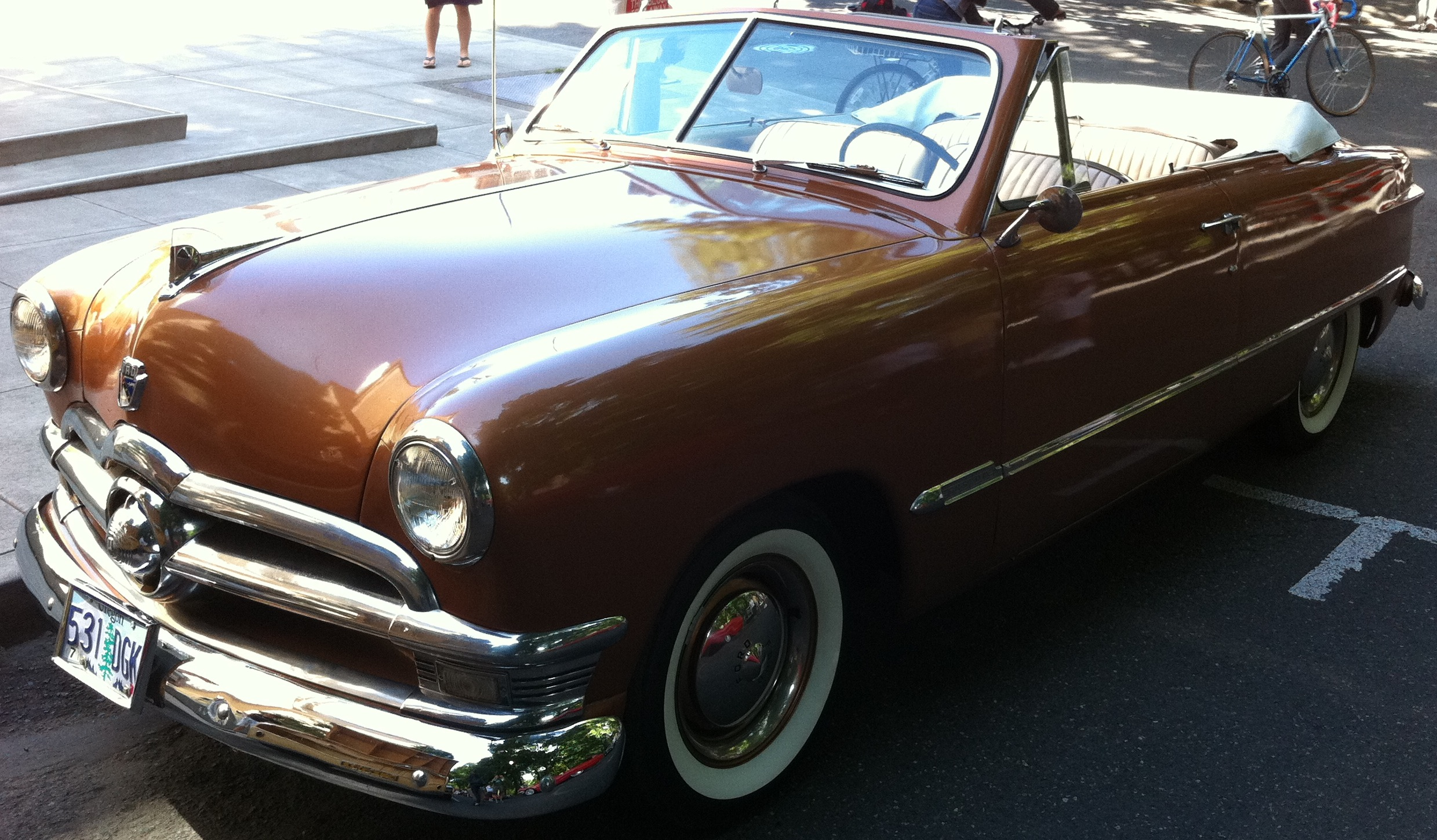 1950 Ford Convertible Mustang
