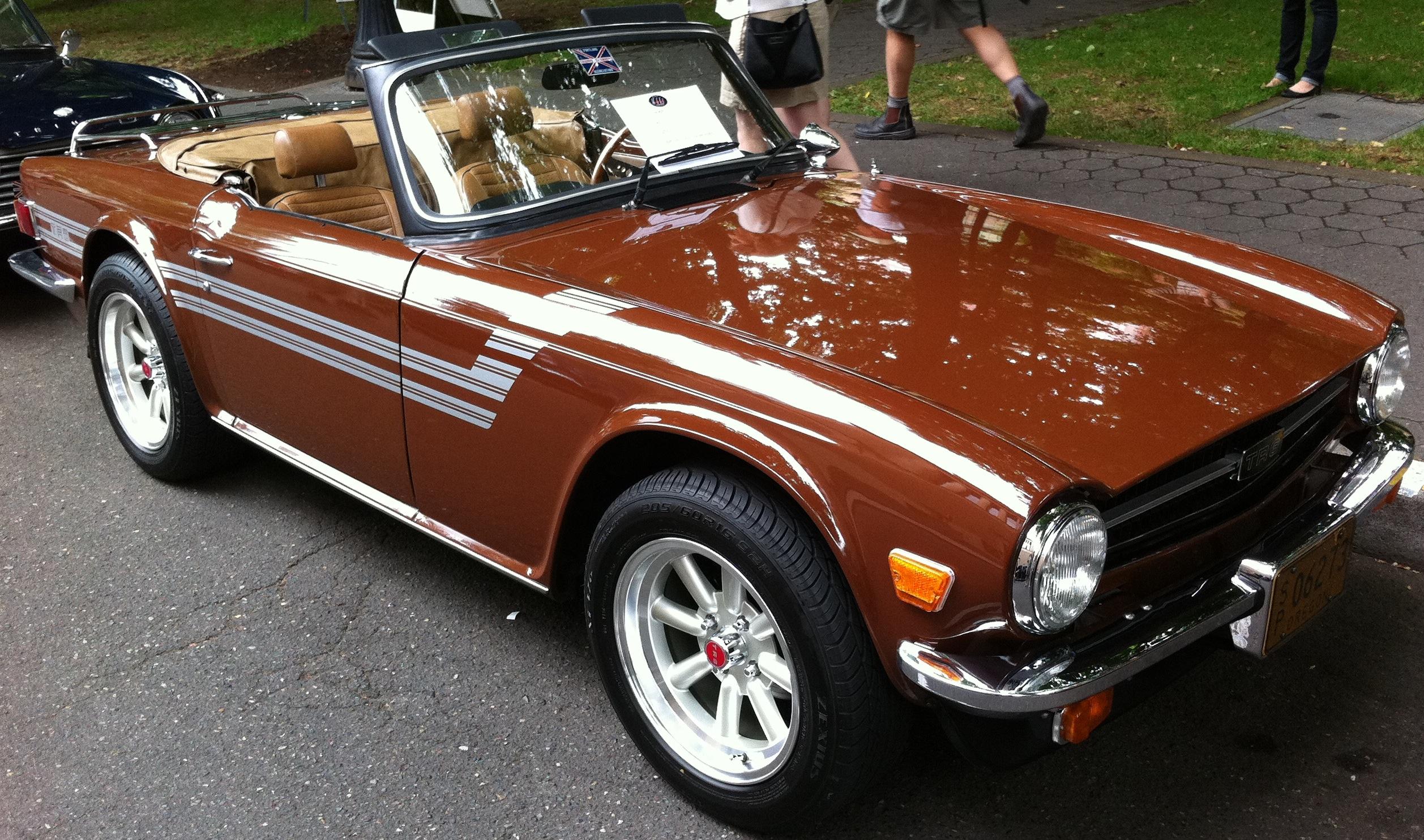 1976-triumph-tr6-brown.jpg 2,515×1,485 pixels | Memories ...