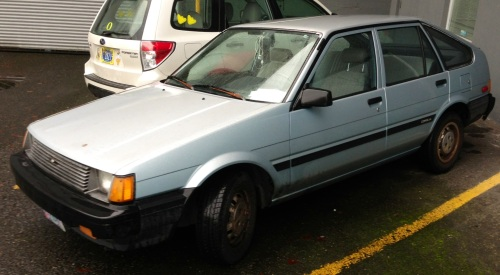 1985 Toyota Corrolla Liftback