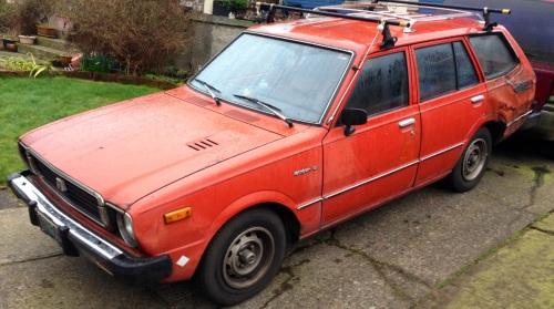 1978 Toyota Corolla Deluxe Wagon