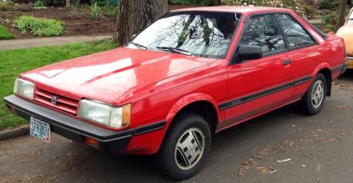 1987 Subaru GL Coupe