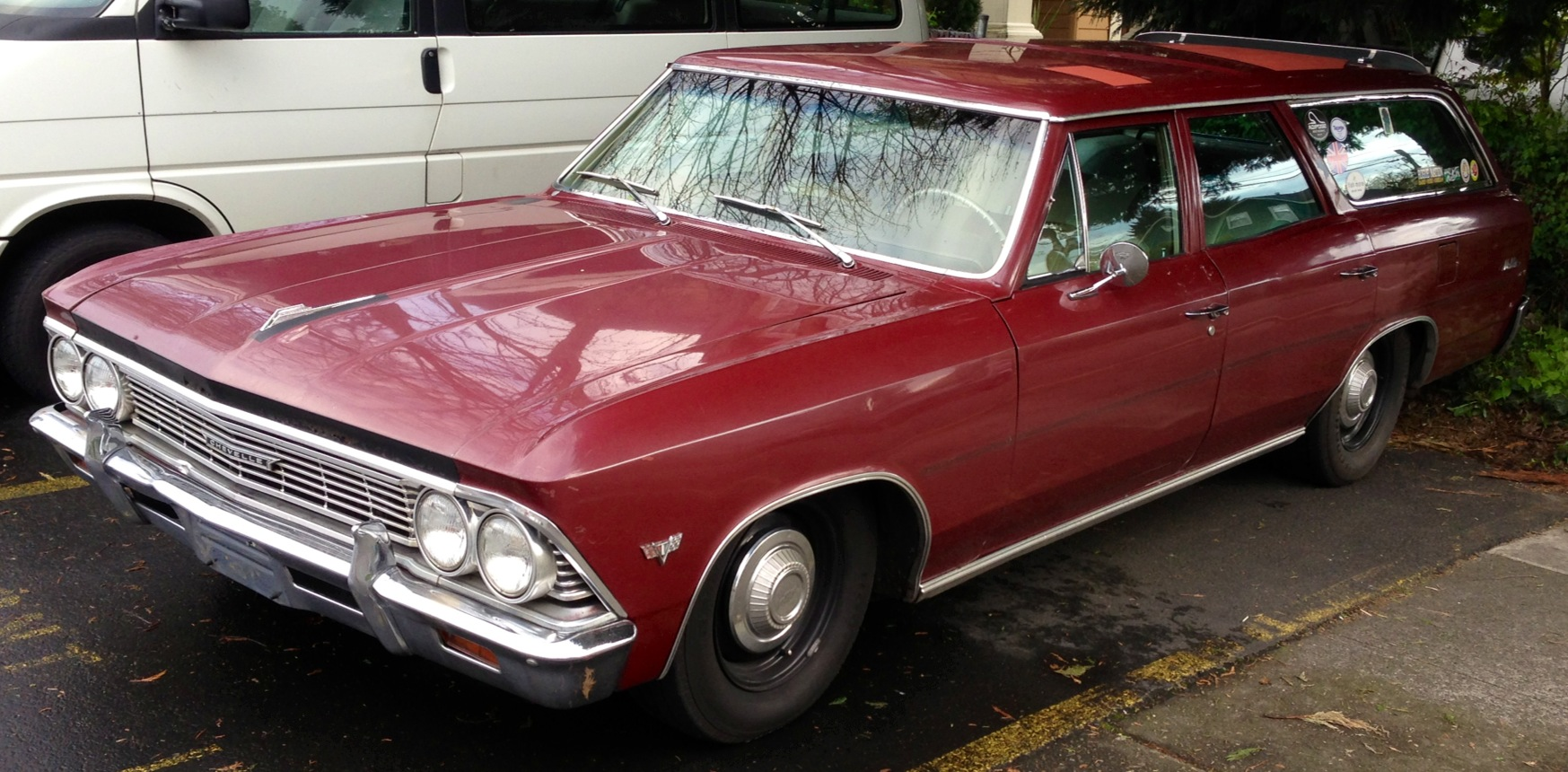 What We Saw Cars The Bridgetown Blog 1966 Chevy Chevelle Malibu Chevrolet Wagon
