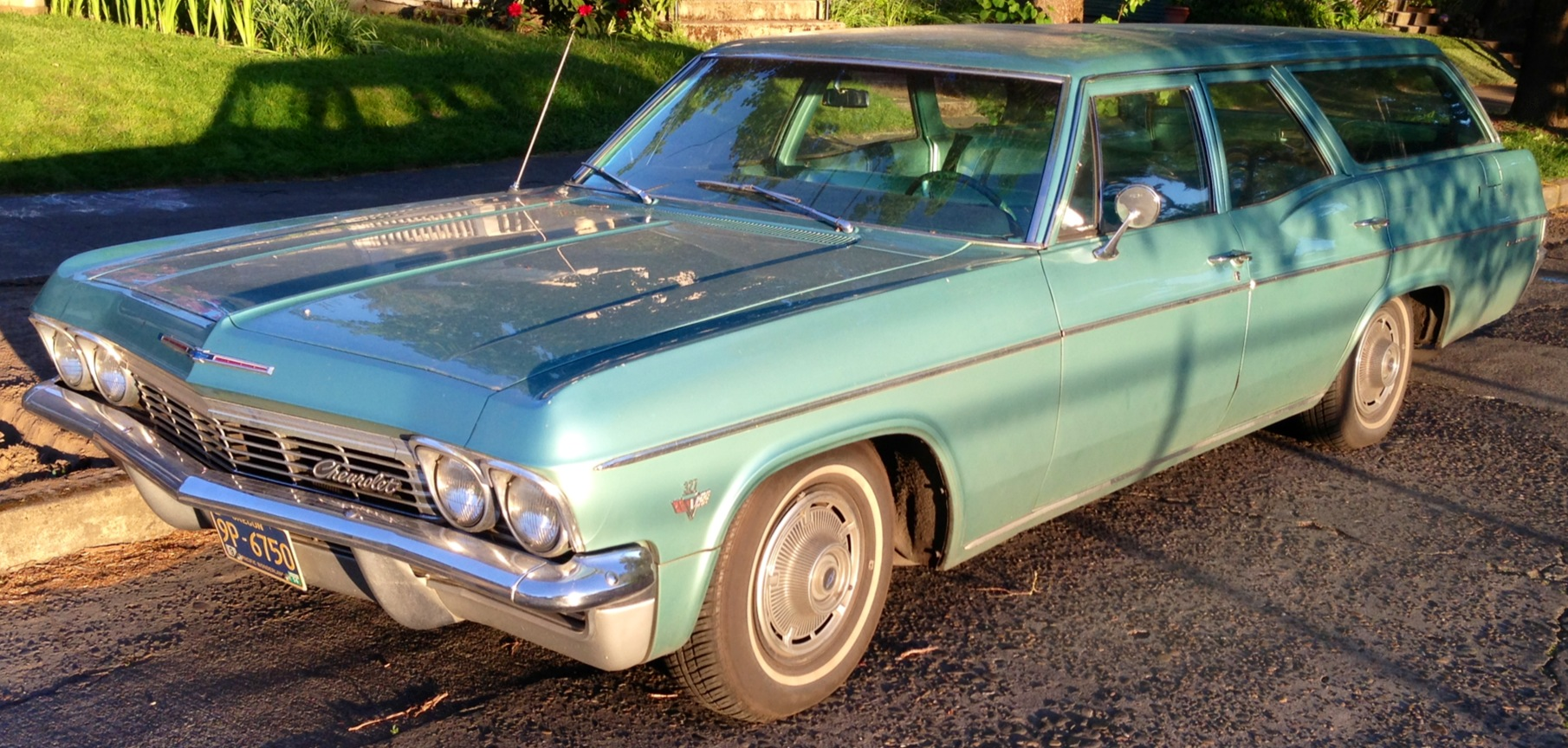 The Bridgetown Blog Our Life In Portland Page 2 1966 Chevrolet Bel Air Wagon 1965 327