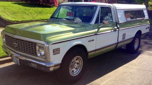 1972 Chevrolet Cheyenne 20 350