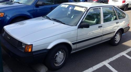 1984 Toyota Corolla DX Liftback
