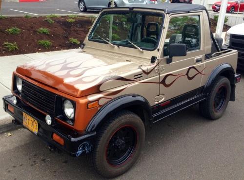 1986 Suzuki Samurai JX Converitble