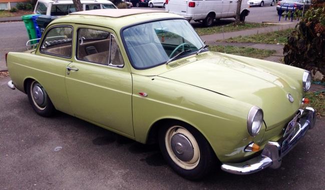 1962 Volkswagen Notchback